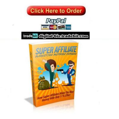 Pay for Super Affiliate Marketing Methods Exposed