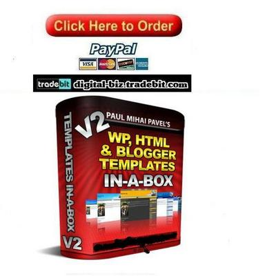 Pay for WP, HTML And Blogger Templates In A Box
