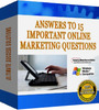 Thumbnail Answers to 15 Important Marketing Questions (PLR)