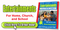 Thumbnail Entertainments for Home, Church, and School (MRR)