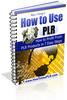 Thumbnail NEW 2010 How to Use PLR (MRR)