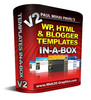 Thumbnail WordPress HTML And Blogger Templates In A Box V2 (MRR)