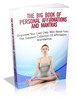 Thumbnail The Big Book Of Personal Affirmations and Mantras (MRR)