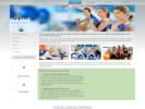 Thumbnail Gym Fitness Website Templates with (PLR)