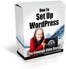 Thumbnail How To Setup Wordpress with (PLR)
