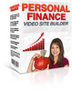 Thumbnail Personal Finance Video Site Builder with (MRR)