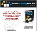 Thumbnail Internet Marketing Know How Course +(PLR)