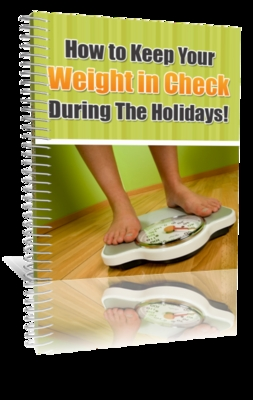 Pay for How to keep your weight in check during the holidays (MRR)