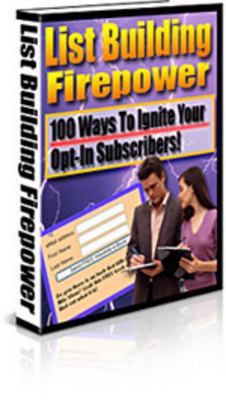 Pay for Find Out 100 Ways To Ignite Your OptIn Subscribers