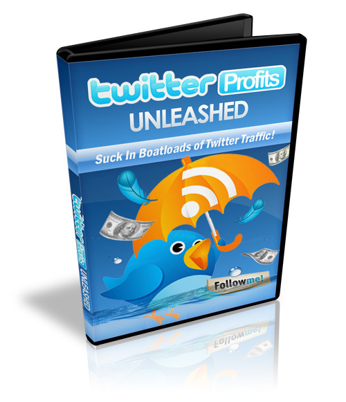 Pay for Twitter Profits Unleashed   eBook and Videos 2010 (MRR) .rar
