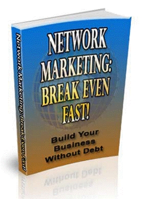 Pay for Network Marketing  Break Even Fast (MRR)