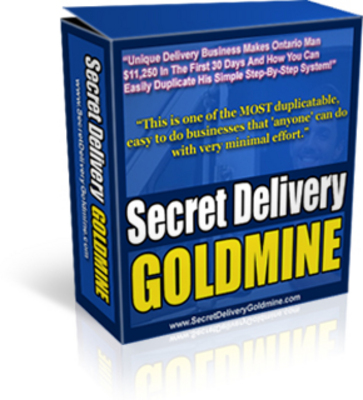 Pay for Secret Delivery Goldmine Business Plan (PLR)
