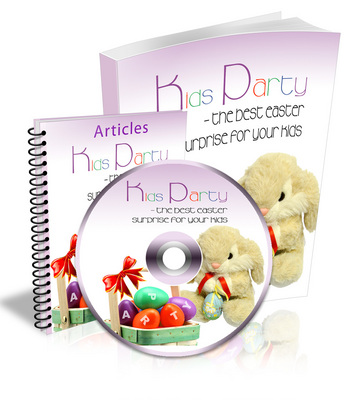 Pay for NEW 2010 Kids Party - Easter - Ebook and Audio (MRR)