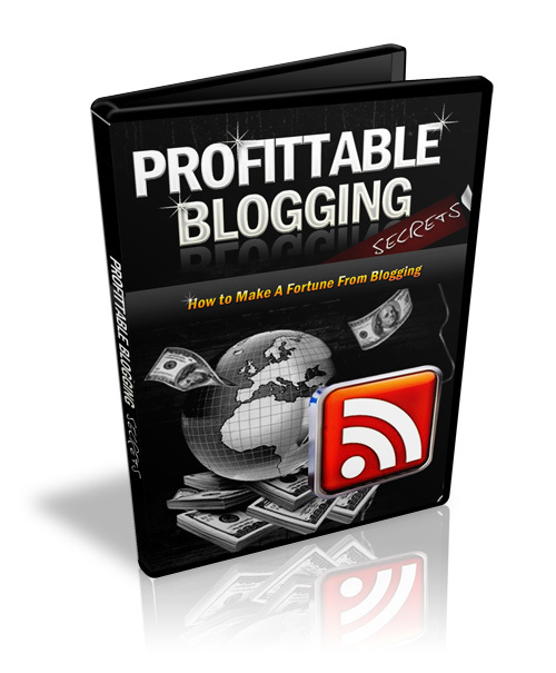 Pay for Profitable Blogging Secrets   eBook and Video Series 2010 (MRR) .zipx