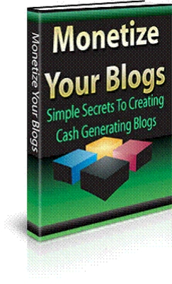 Pay for Monetize Your Blogs (MRR)