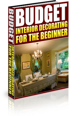 budget interior decorating for the beginner download ebooks