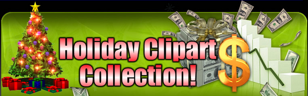 Pay for Holiday Clipart Collection You With (MRR)