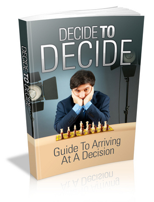 Pay for Decide To Decide with (MRR)(GR)