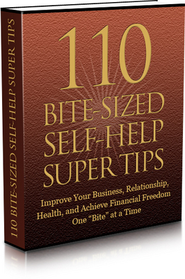 Pay for 110 Bite Sized Self Help Super Tips with (MRR)(GR)