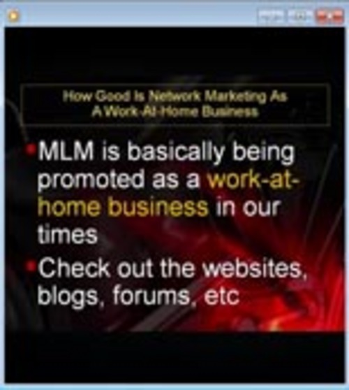 Pay for Home Business Videos with (MRR)