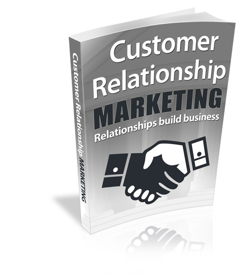 customer relationship marketing Full answer relationship marketing is the approach businesses take to keep their customers happy and feeling like they are important a common example of customer.