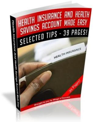 Pay for Health Insurance And Health Savings Account Made Easy (MRR)