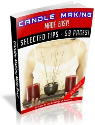 Pay for Candle Making Made Easy (MRR)