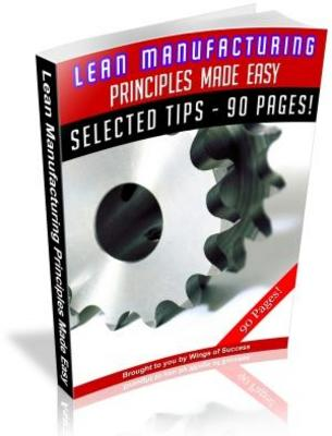 lean manufacturing 50 unrestricted plr articles