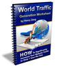 Thumbnail World Traffic Generation Worksheet + Rebrand $ Make Money