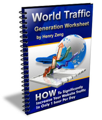 Pay for World Traffic Generation Worksheet + Rebrand $ Make Money