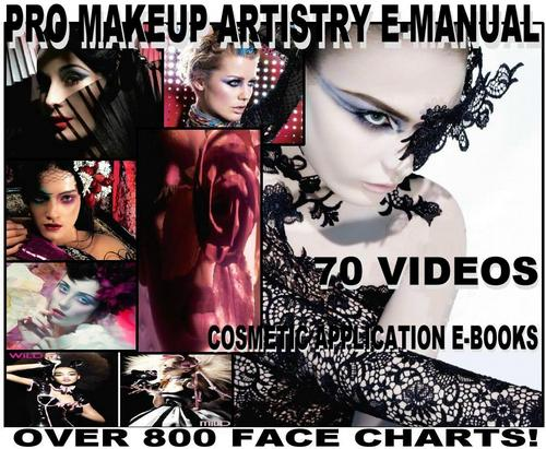 Pay for 800 MAC FACE CHART + BIBLE MAKEUP ARTIST MANUAL 70 VIDEOS!