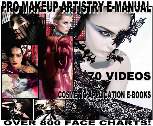 Pay for 800 MAC FACE CHART + BIBLE MAKEUP ARTIST MANUAL 70 VIDEOS!