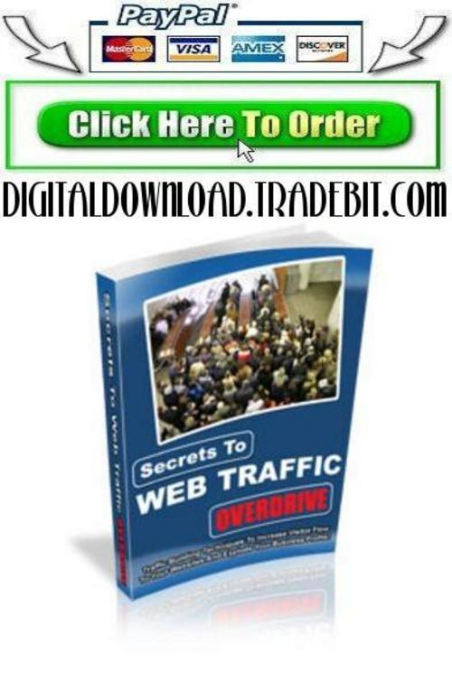 Pay for Secrets To Web Traffic Overdrive
