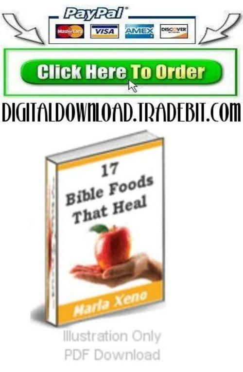 Pay for 17 Bible Foods That Heal
