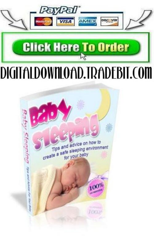 Pay for Baby Sleeping