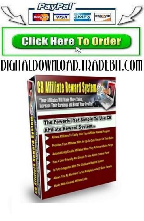 Pay for CB Affiliate Reward System