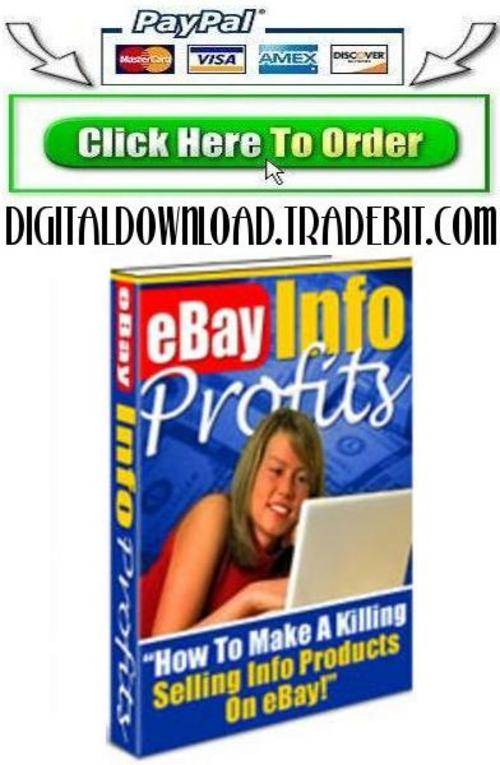 Pay for eBay Info Profits Guide