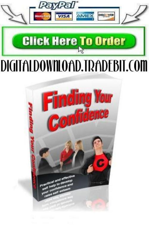 Pay for Finding Your Confidence