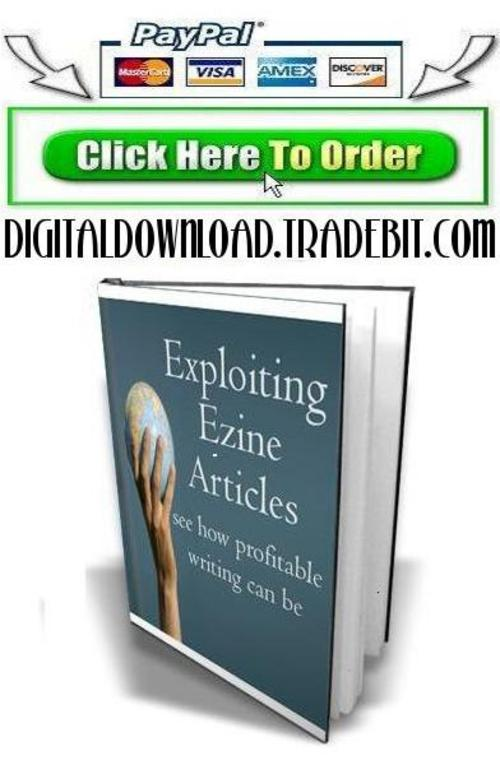 Pay for Exploiting Ezine Articles
