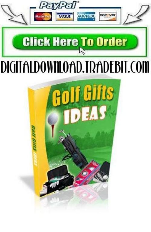 Pay for Golf Gift Ideas