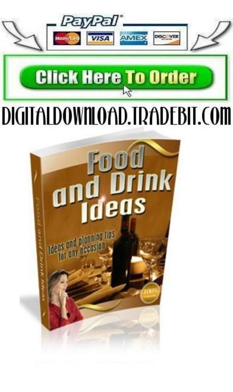 Pay for Food and Drink Ideas