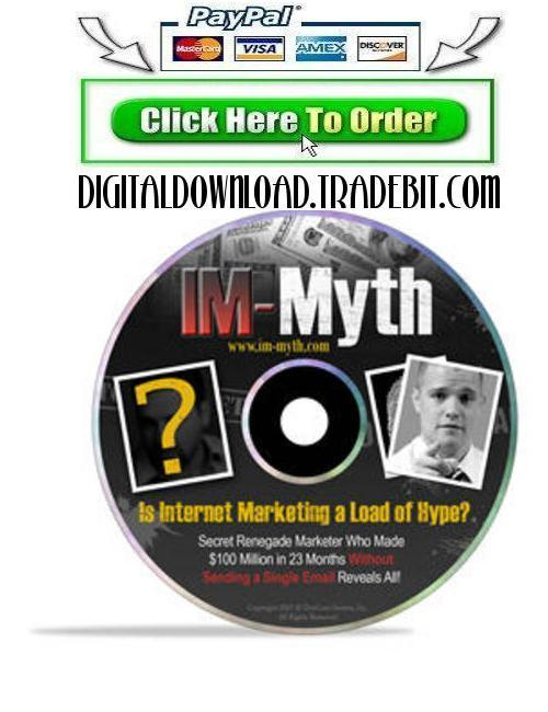 Pay for Internet Marketing Myth