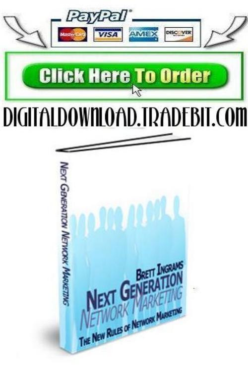 Pay for Next Generation Network Marketing