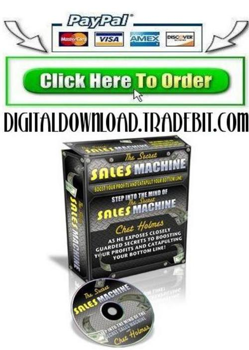 Pay for Secrets Of Sales Machine