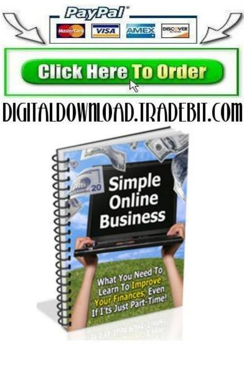 Pay for Simple Online Business