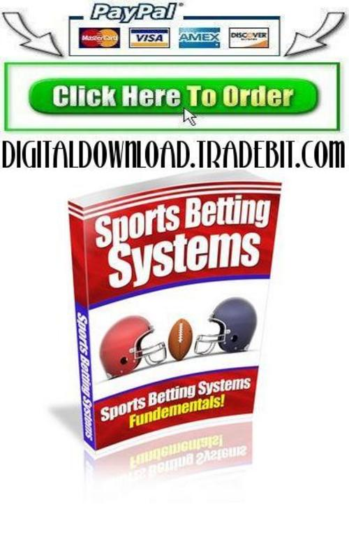 Pay for Sports Betting Systems