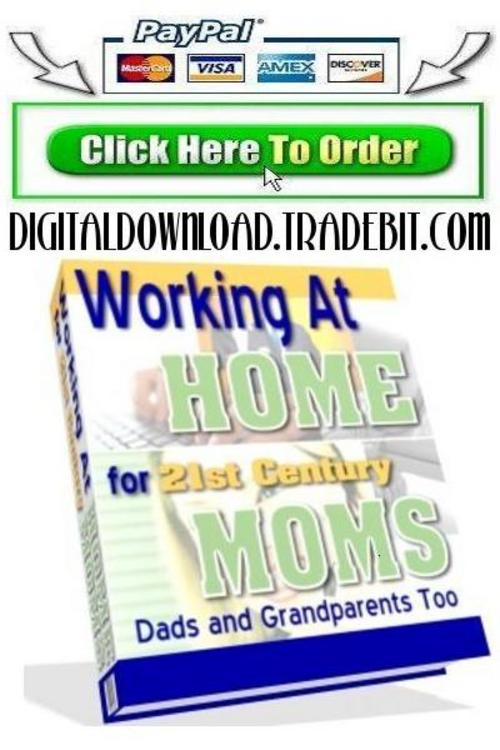 Pay for Working At Home For 21st Century Moms