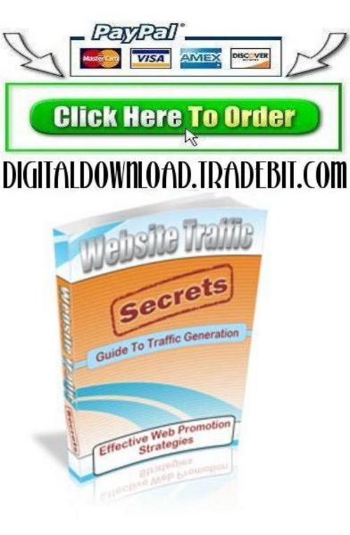 Pay for Website Traffic Secrets