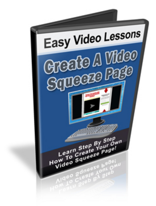 Pay for Create A Video Squeeze Page