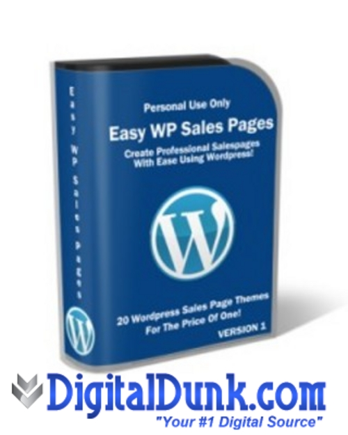 Pay for Easy Wordpress Sales Pack
